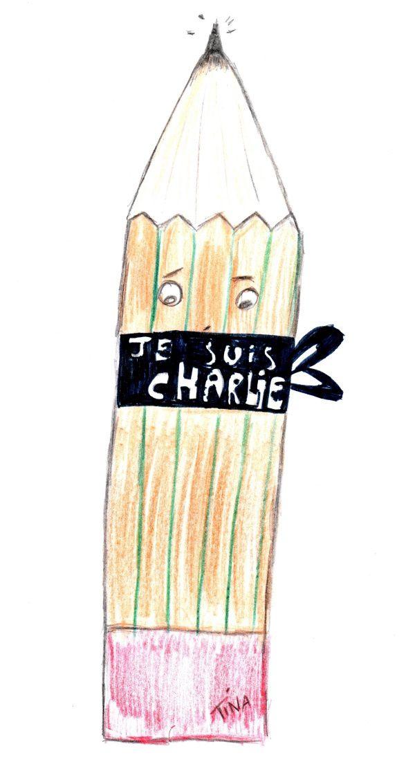 Nul ne peut bâillonner les crayons !