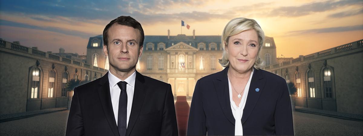 Les élections présidentielles 07/ 05/ 2017, le second tour