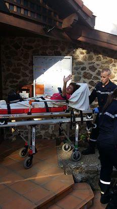 evelyne flacher hospitalisée