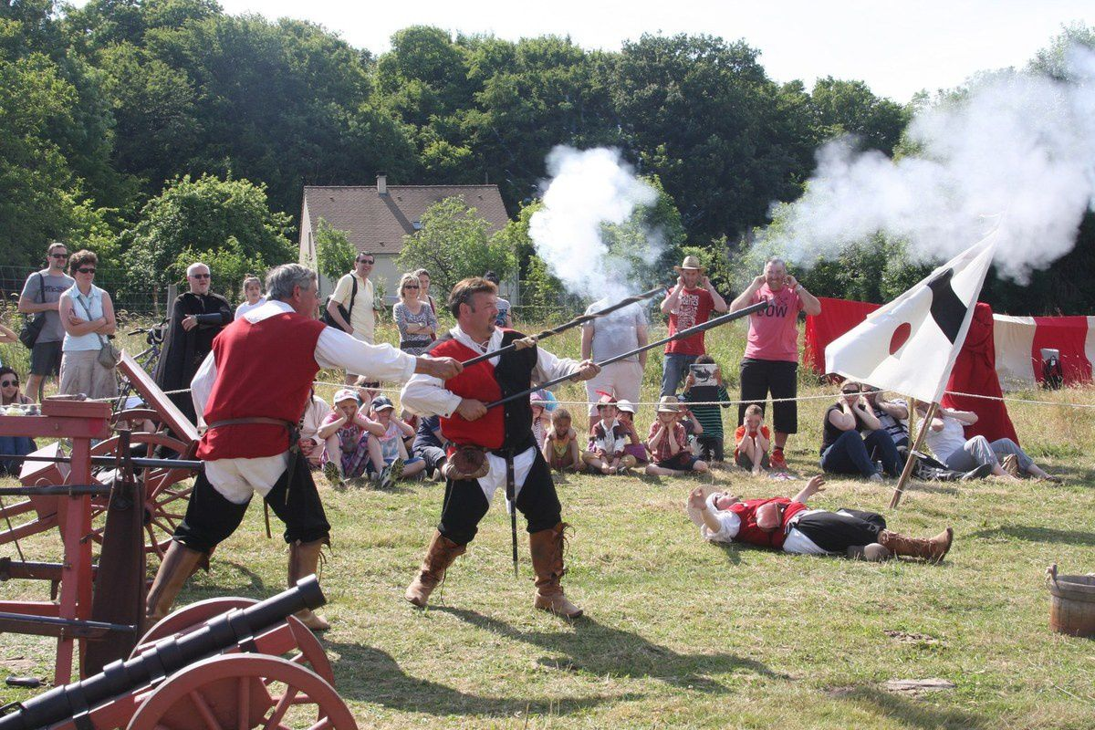 La fête médiévale de janvry 20 et 21 juin,l'événement