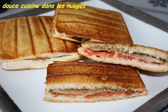 Croque monsieur végetarien et moutarde balsamique-miel Clovis