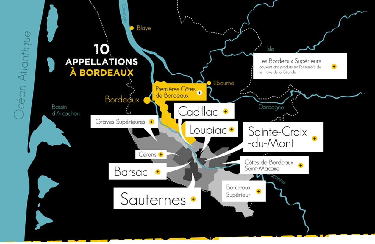 Les Bordeaux liquoreux et le fromage