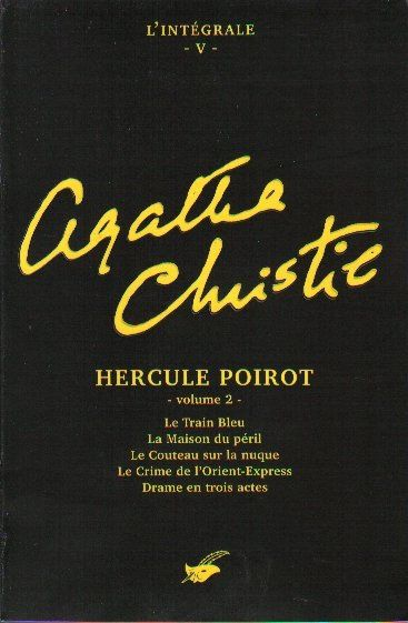 Le train bleu d'Agatha Christie (Le masque)