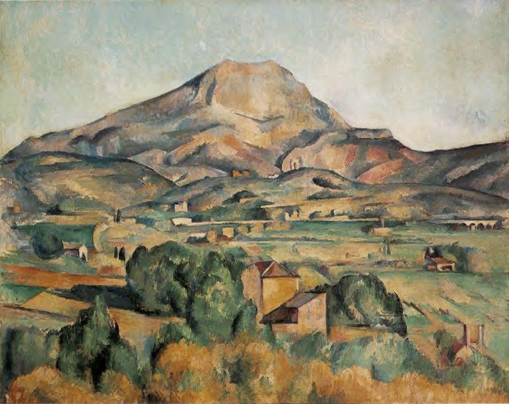 Un peintre, un tableau : La Montagne Sainte Victoire vue de Bellevue par Paul Cézanne