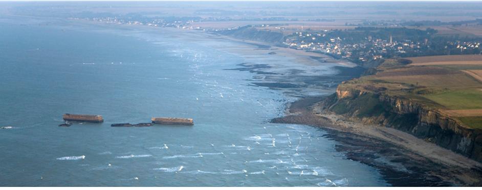 Candidature plages débarquement normandie au patrimoine de l'UNESCO