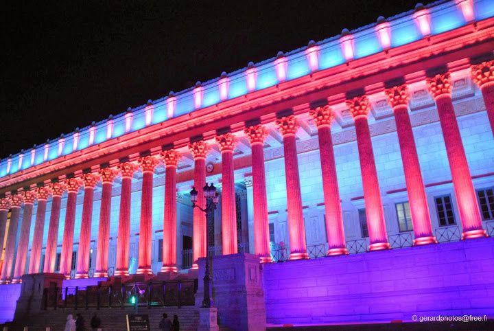 Fête des Lumières 2013 - Lyon - Palais de Justice