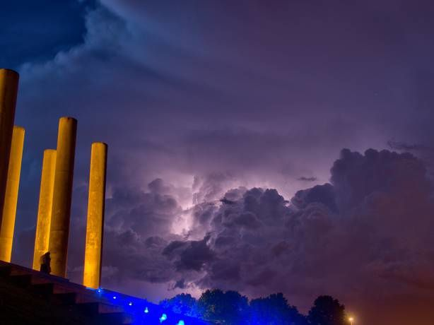 Photos d'orage dans Cergy-Pontoise et environs