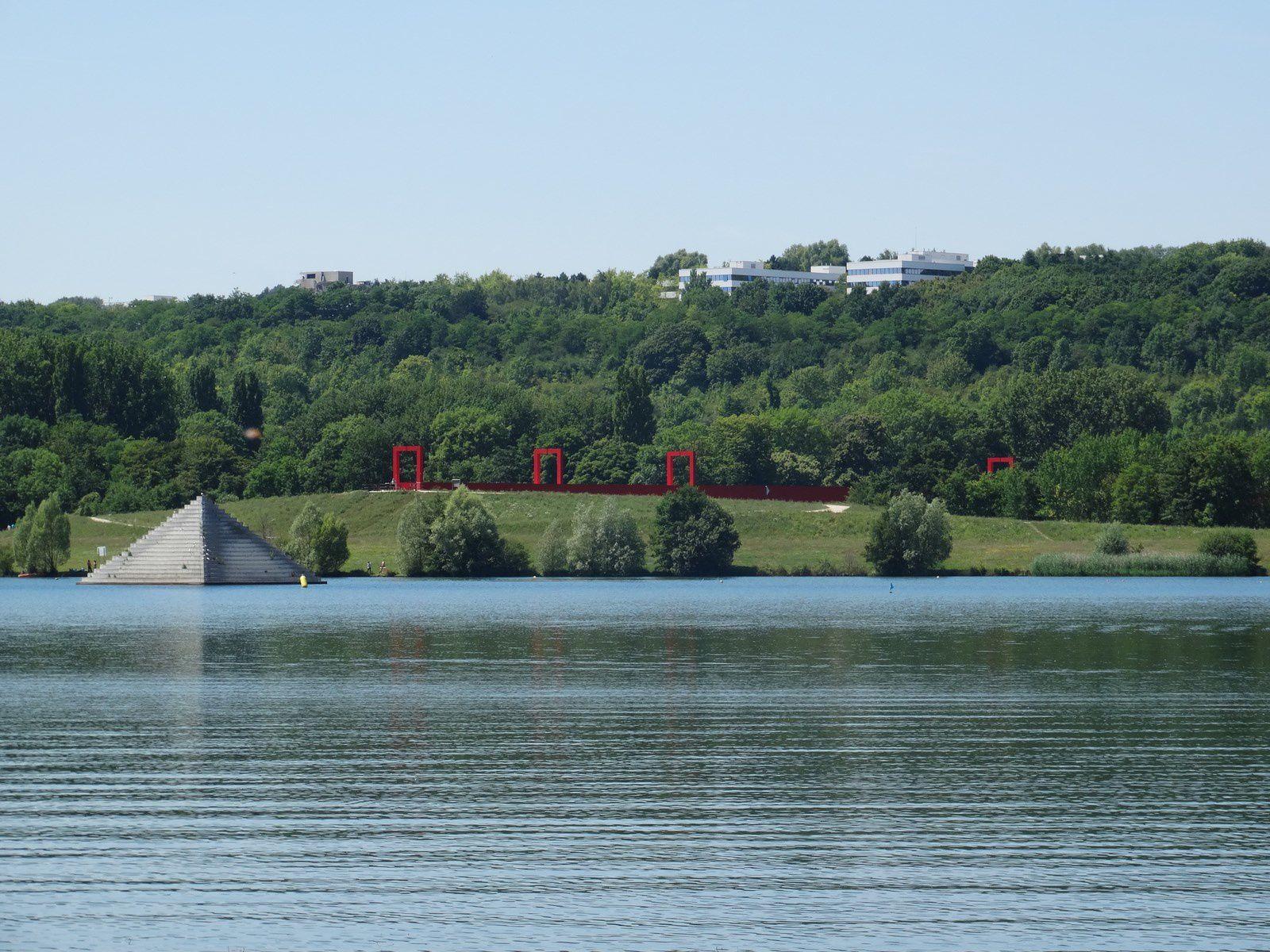 Les étangs de Cergy en Juin