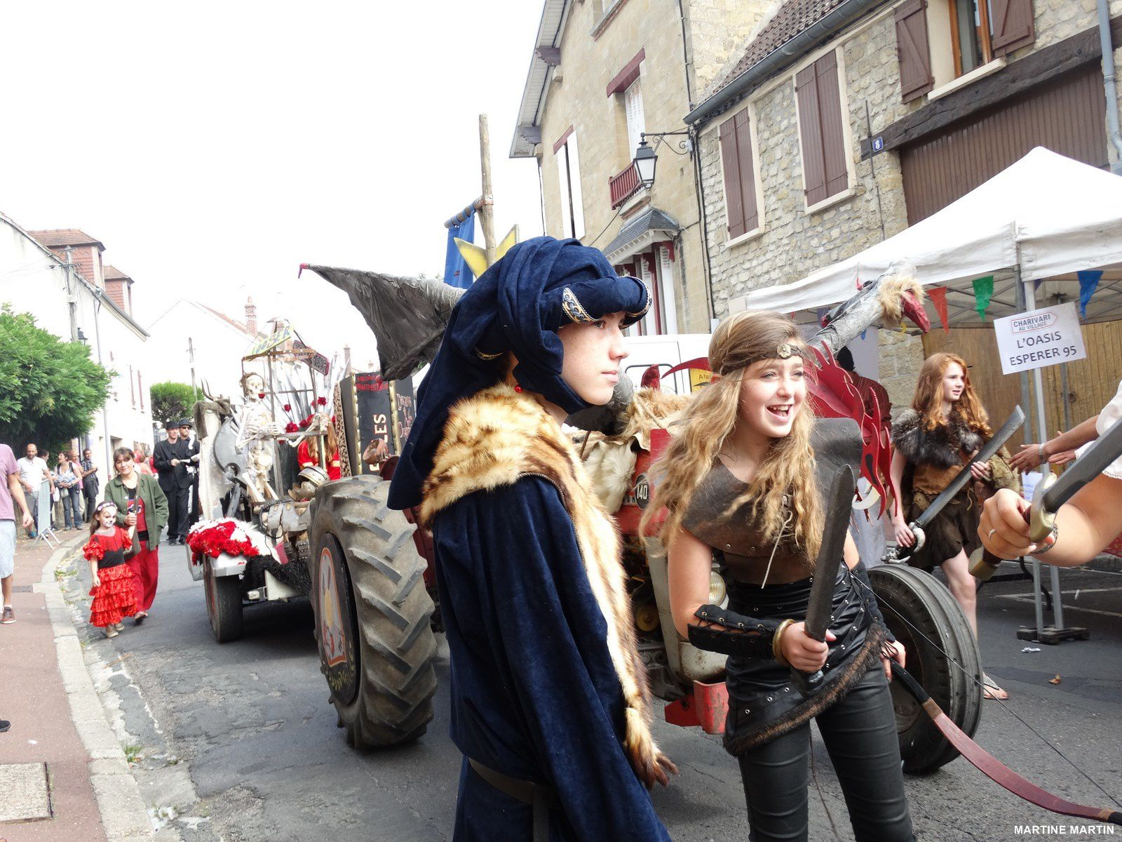 Charivari Cergy Village 2014 : Donjons et dragons