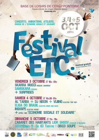 Festival etc à la base de loisirs de Cergy-Pontoise