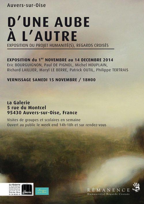 D'une aube à l'autre / Exposition à Auvers sur Oise