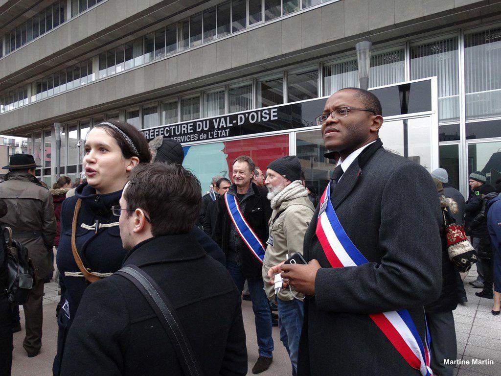 Cergy : Rassemblement pour défendre les valeurs républicaines