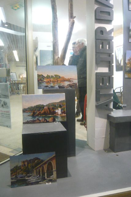 Jean-François Grébert Peintre expose à Pontoise
