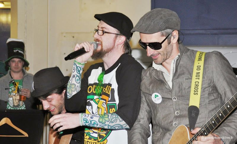 St Patrick Concert Cergy :  The Crook and the Dylan's