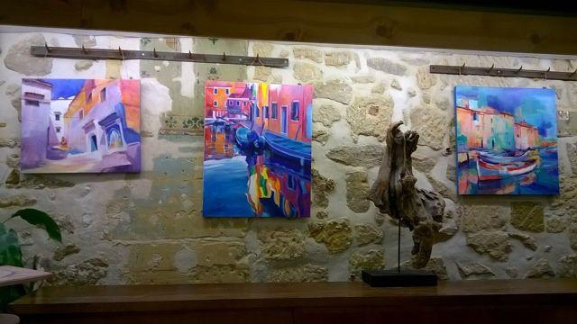 Nouvelle exposition avant Noël à l'atelier Dar de Pontoise.