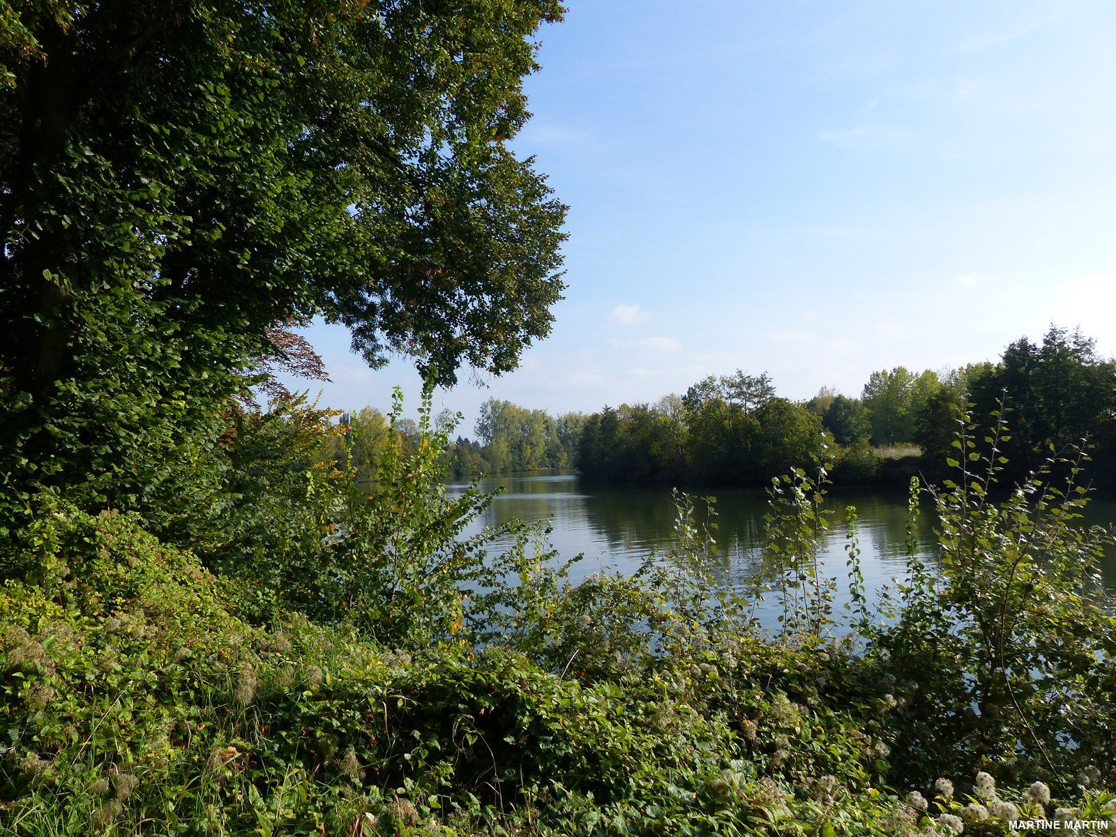 Les bords d'Oise à Cergy