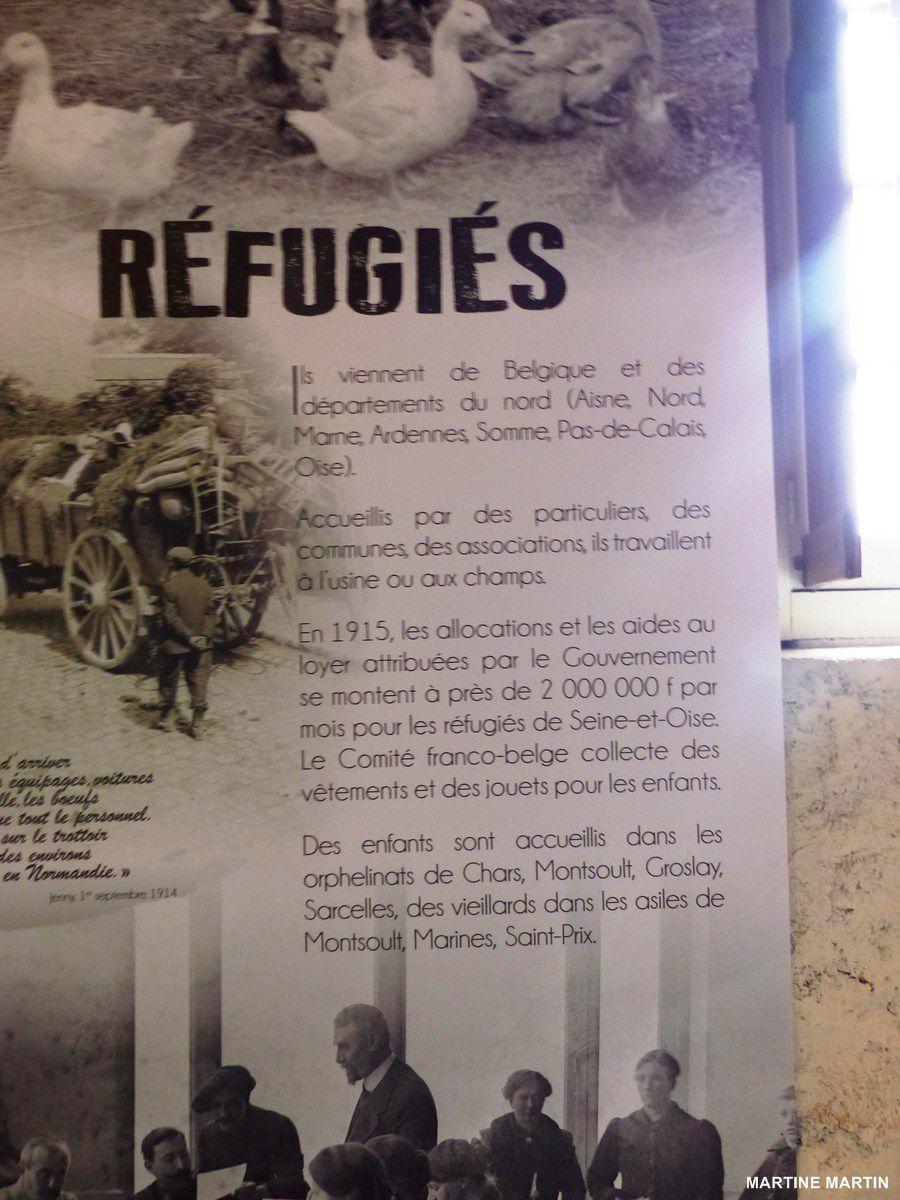 Photos exposition tant (temps) de guerre / La Roche Guyon