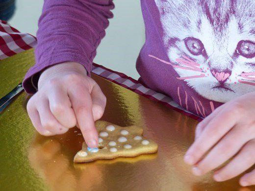 Atelier gâteaux décorés pour le goûter