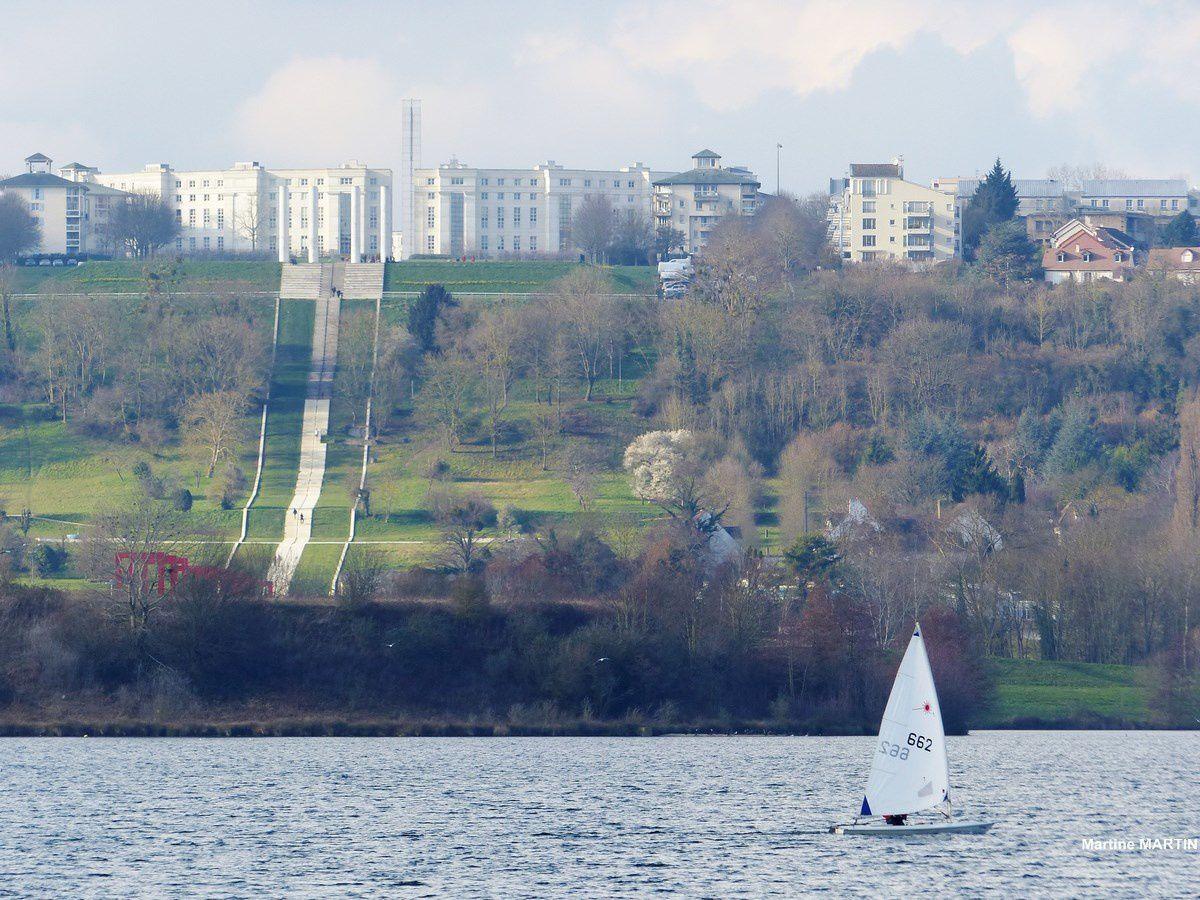 Les étangs de Cergy fin février