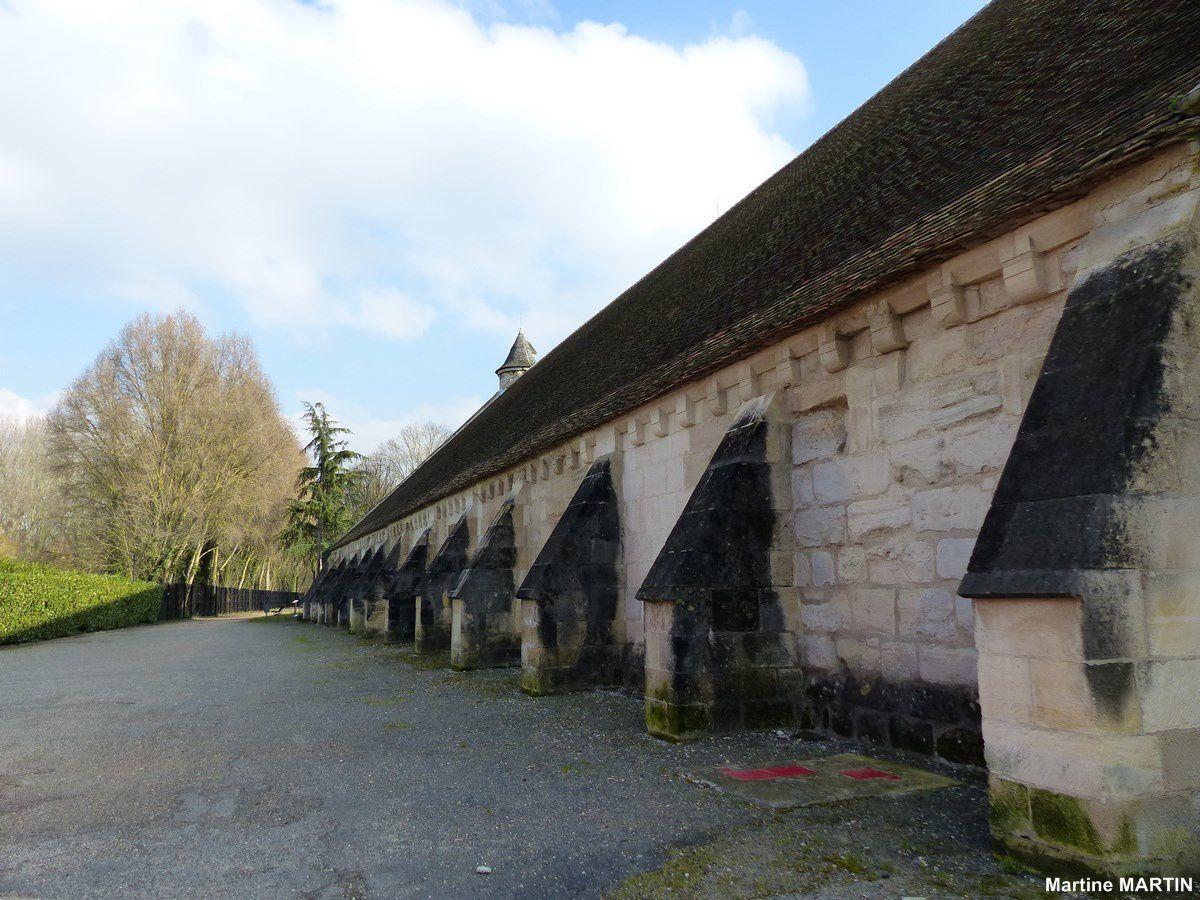 L'abbaye de Maubuisson et son parc à Saint-Ouen L'aumône