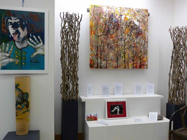 Danièle Pichon à la galerie Dar à Pontoise