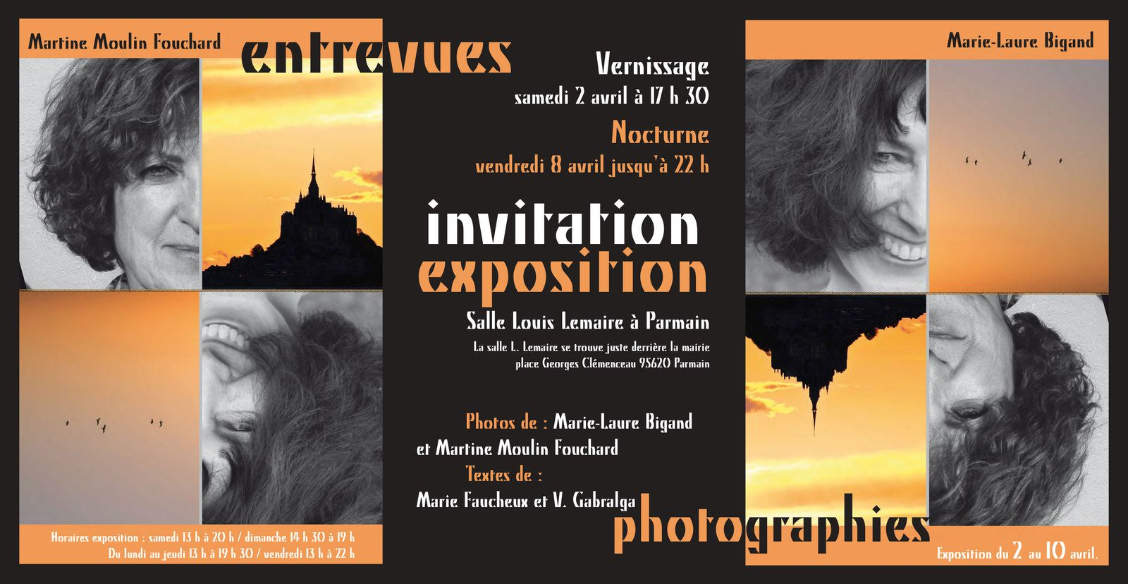 Exposition photo Entrevues à Parmain