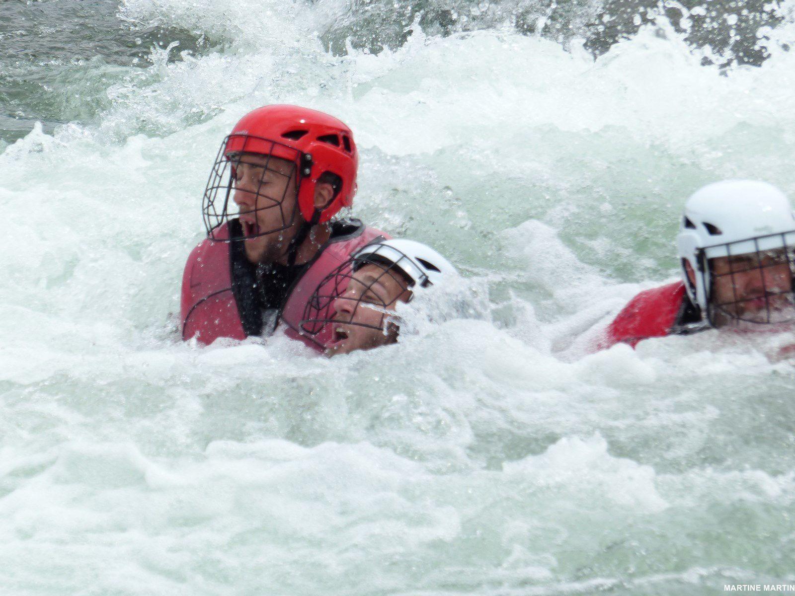 Rafting et kayak à la base de loisirs de Cergy Pontoise