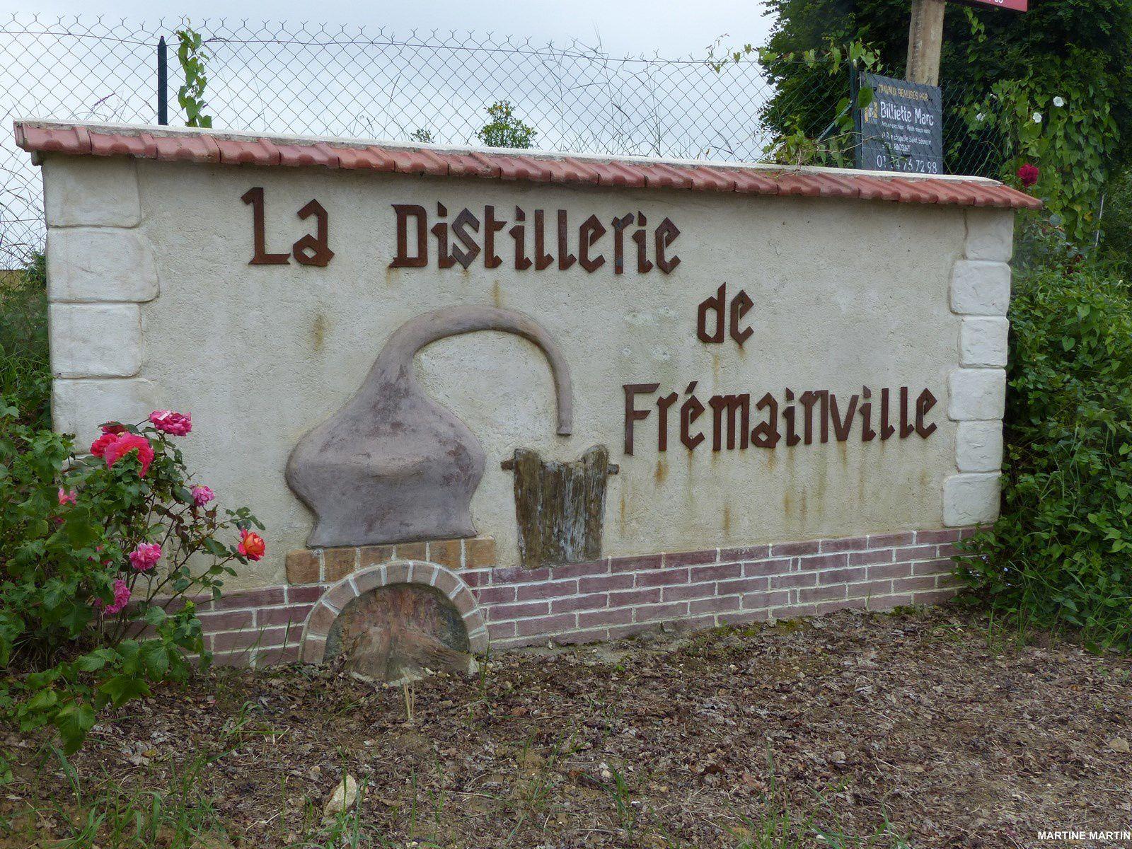 La distillerie de Fremainville (Vexin)