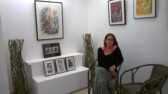 Exposition Annick Chenu à l'atelier Dar à Pontoise