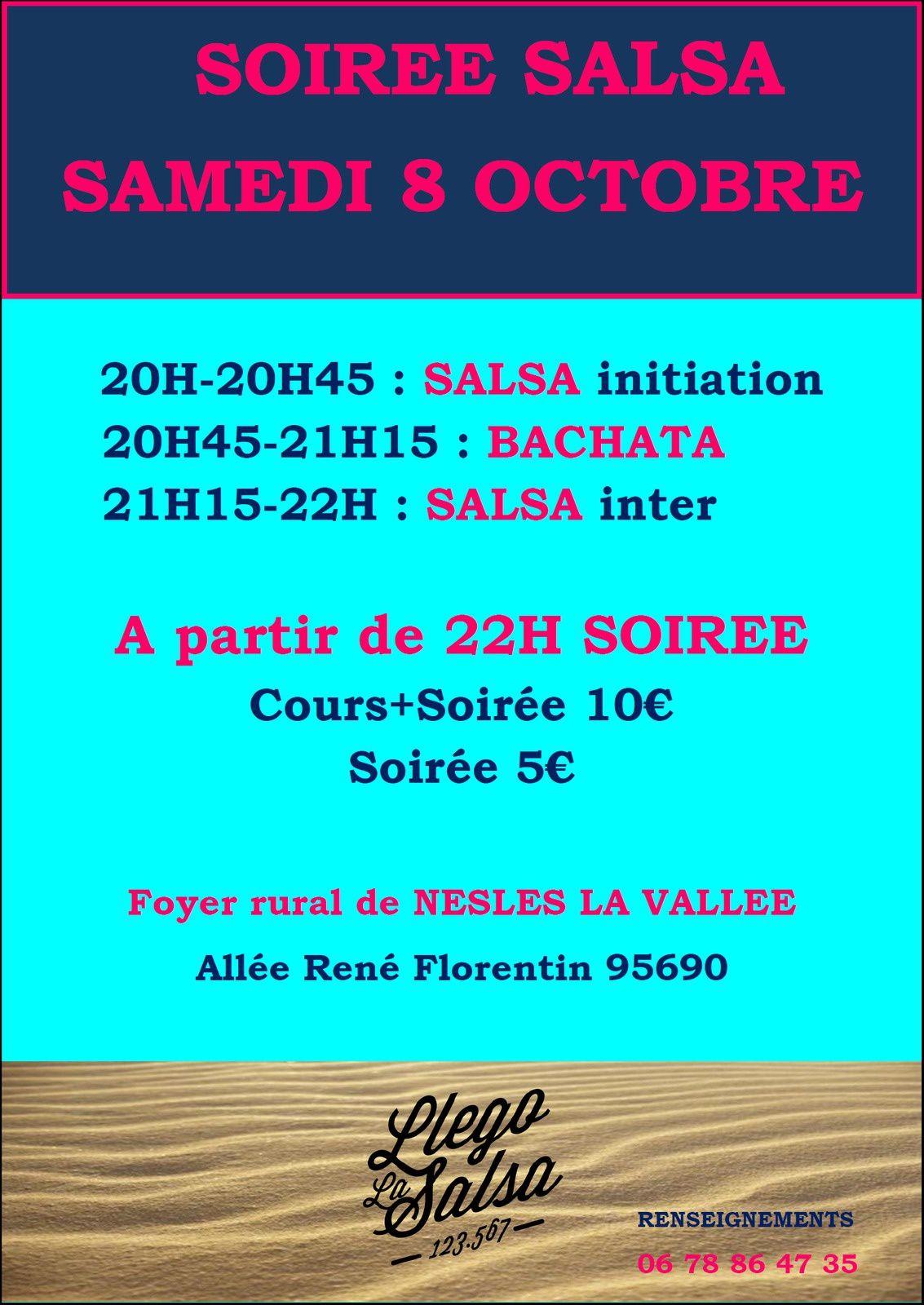 Soirée Salsa à Nesles la Vallée (95)