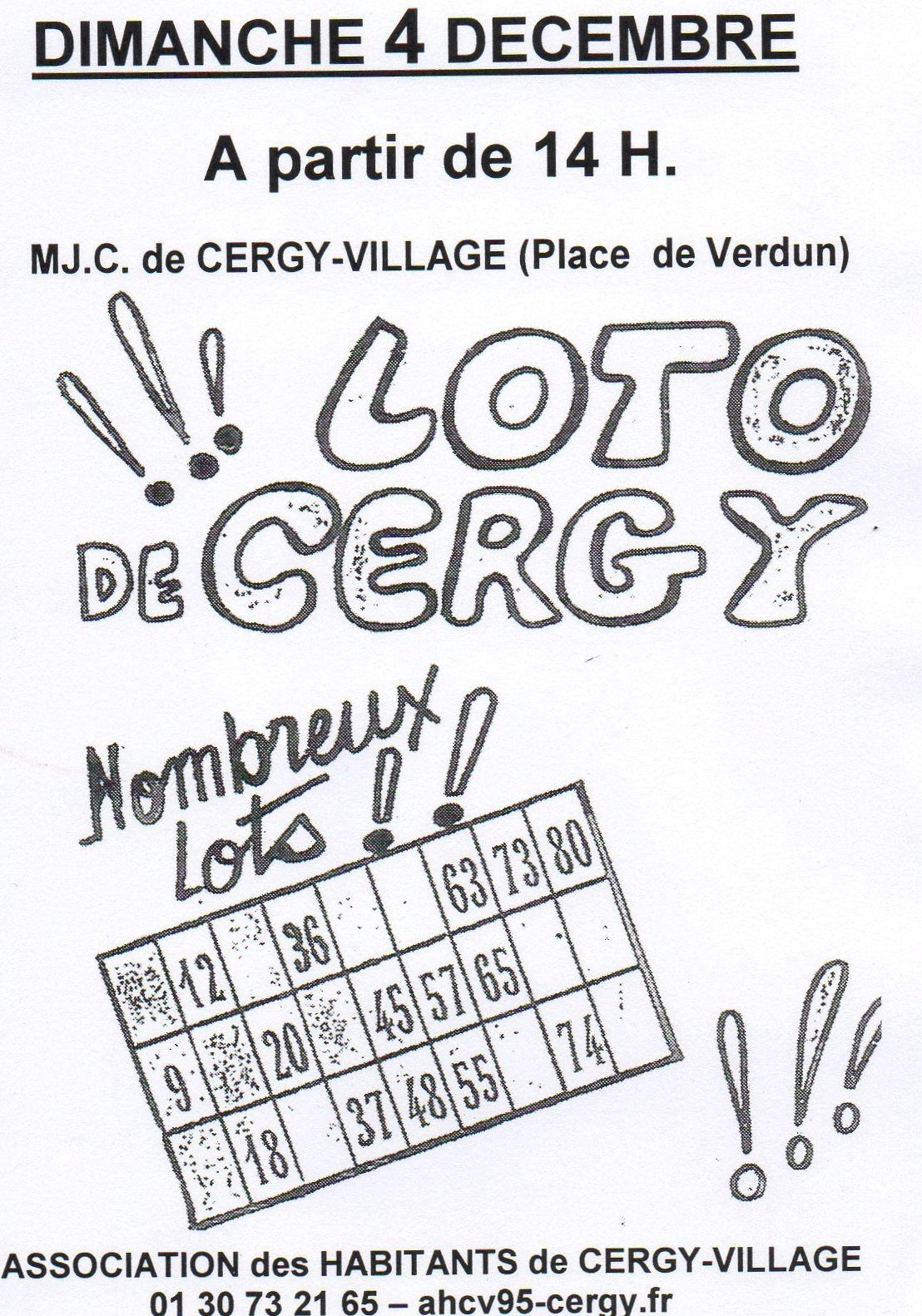 Loto de Cergy Village