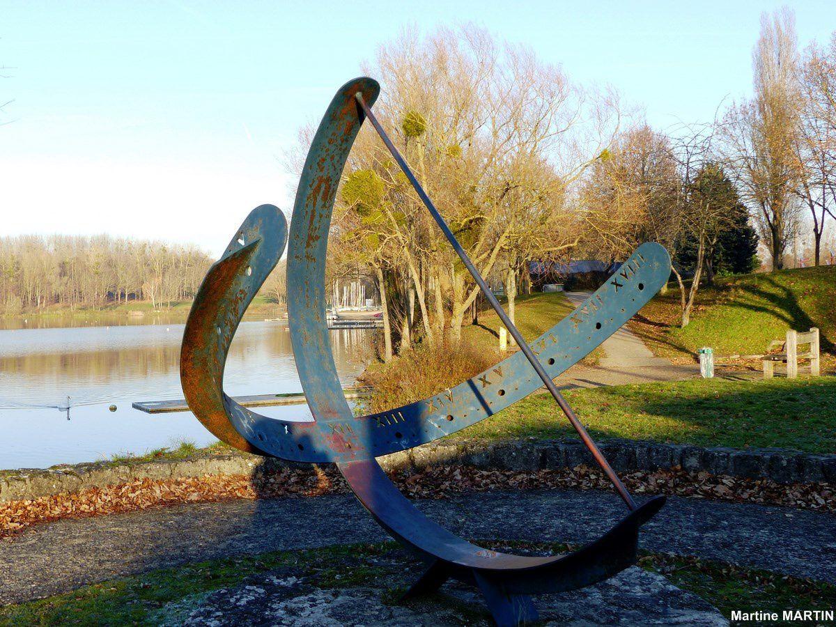 Cadran solaire des étangs de Cergy