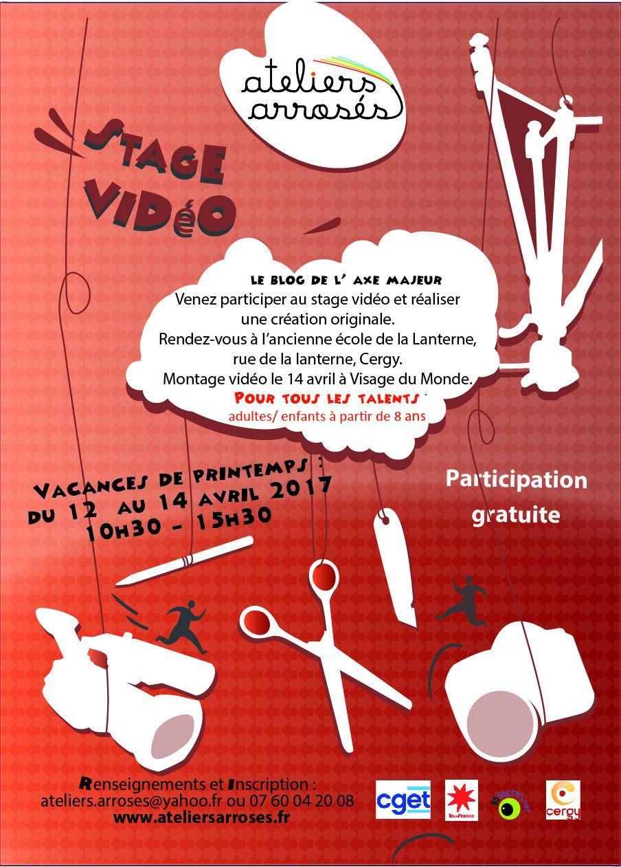 Stage Vidéo ateliers arrosés à Cergy