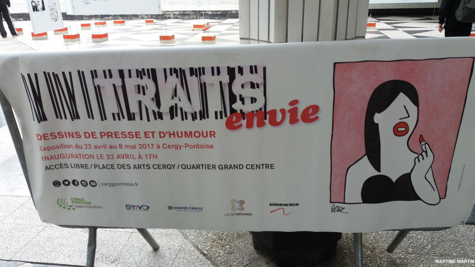 TRAITS ENVIE - Dessins de presse et d'humour à Cergy