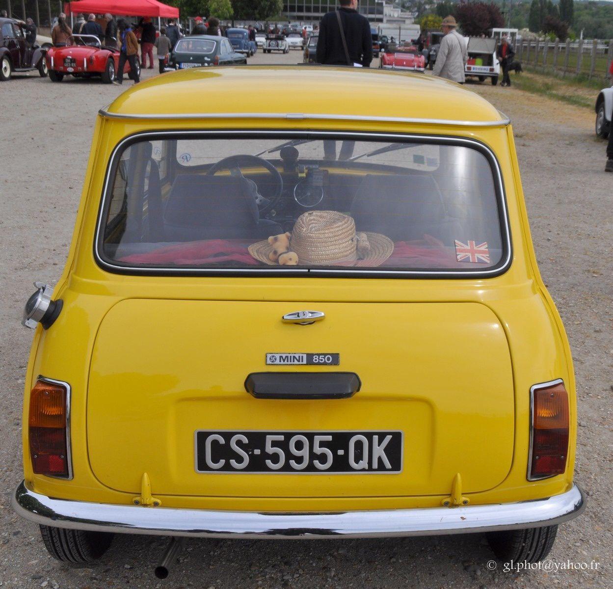 Expositions de voitures anciennes à Maisons Lafitte / Leyland - Mini - 850