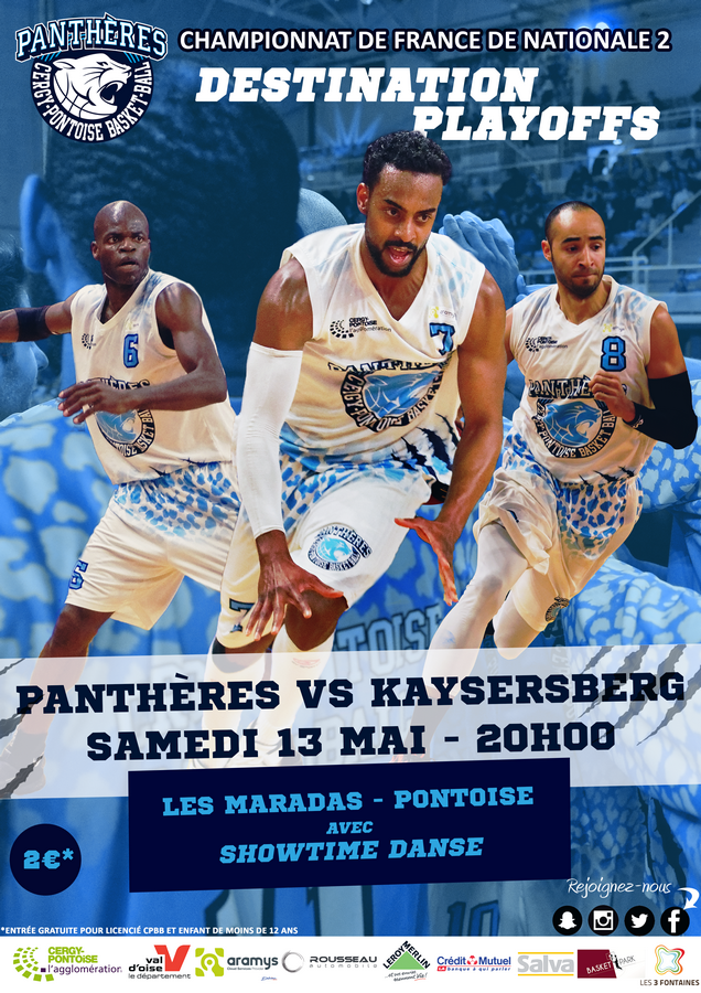 Basket BALL : Cergy-Pontoise contre Kaysesberg