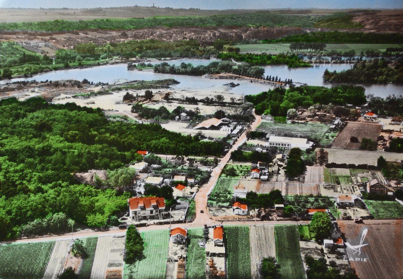 Neuville et les étangs
