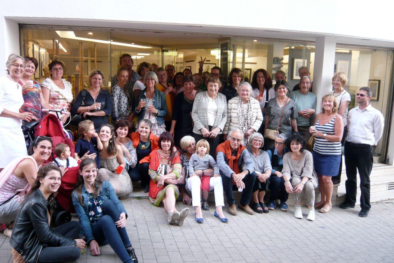 Photos fête de fin d'année à l'atelier DAR de Pontoise