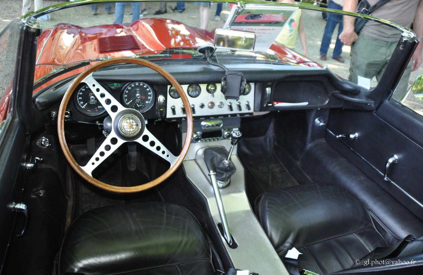 Jaguar -  E Type  - Cabriolet - 3.8L  de 1963