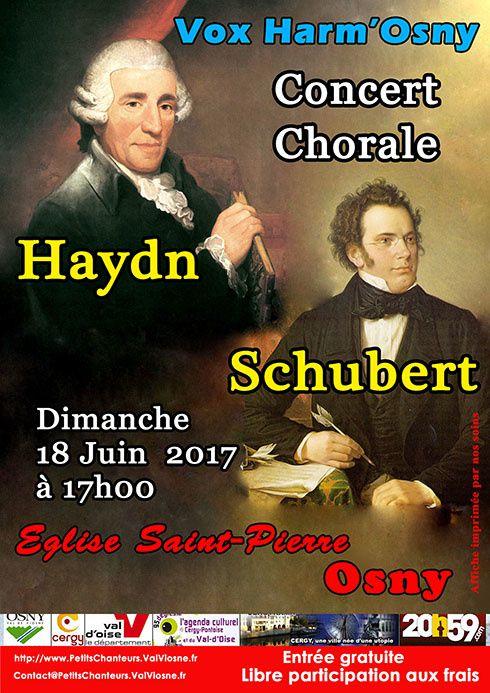 Concert VOX HARM'OSNY en l'église Saint-Pierre d'Osny