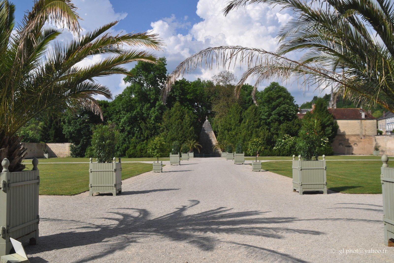Château d'Ancy le Franc (Yonne) / les jardins (2)