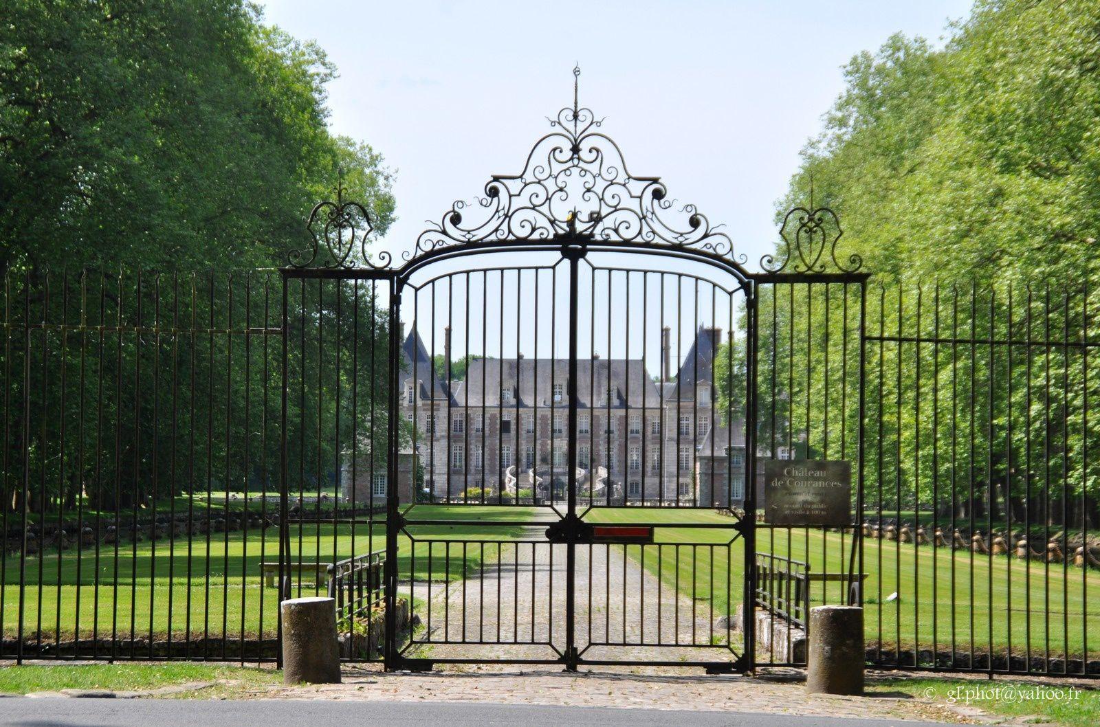 Château de Courances en Essonne