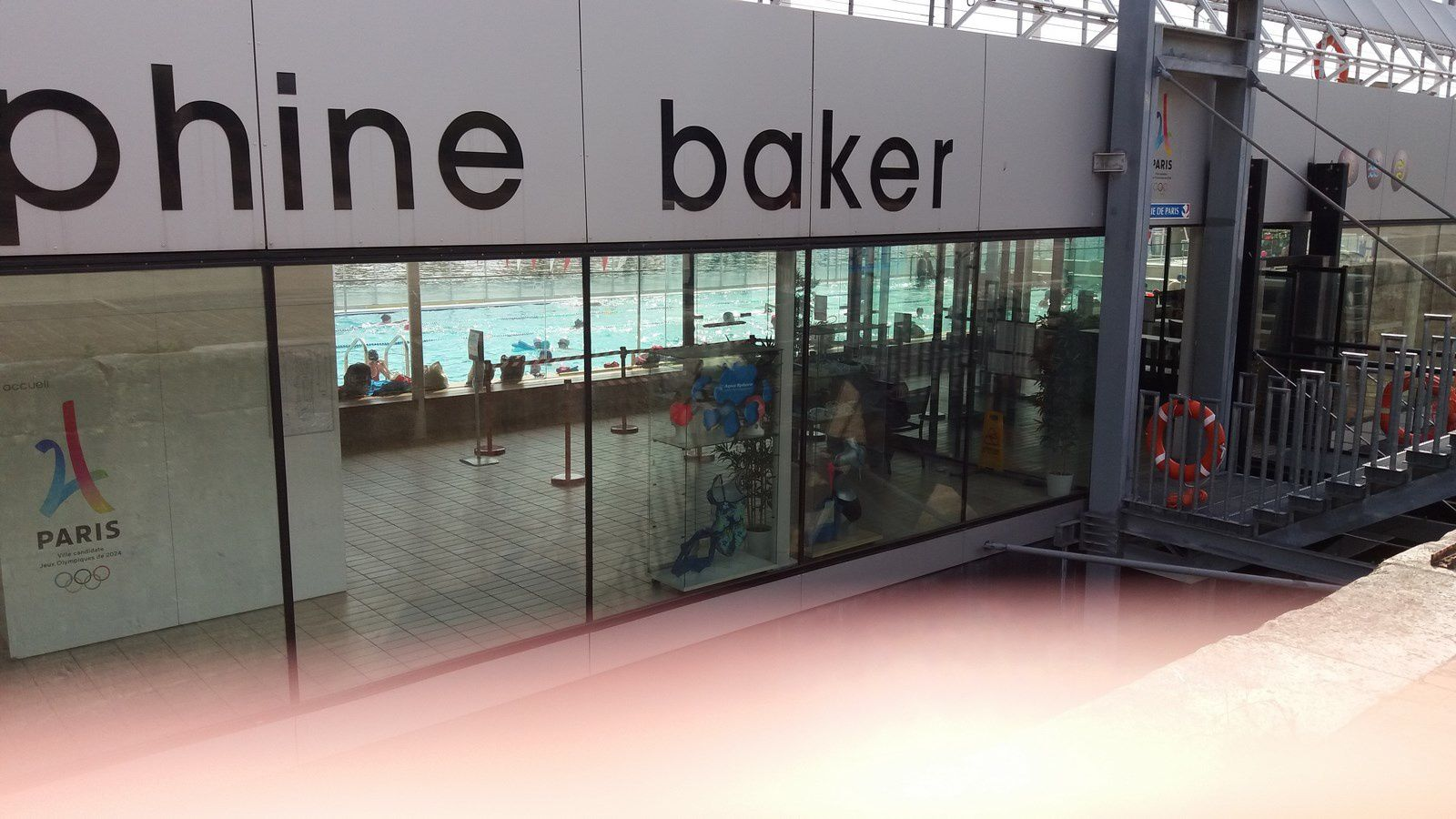 La piscine Joséphine Baker