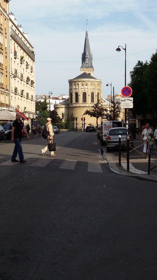 Promenade dans le 13ème arrondissement de Paris un dimanche d'été