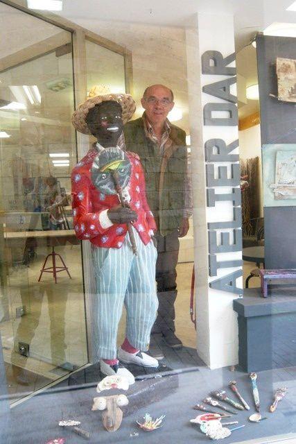 Exposition Alain Chaste à l'Atelier Dar de Pontoise
