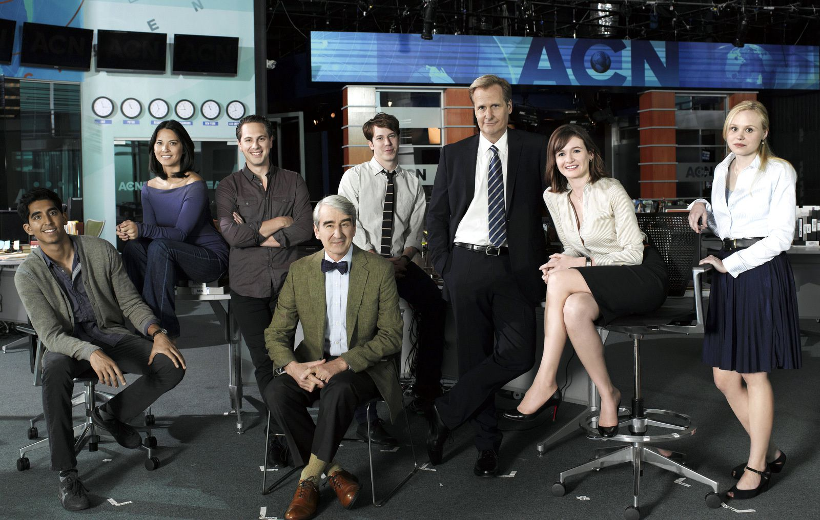 THE NEWSROOM / SERIE AMERICAINE / TELEVISION