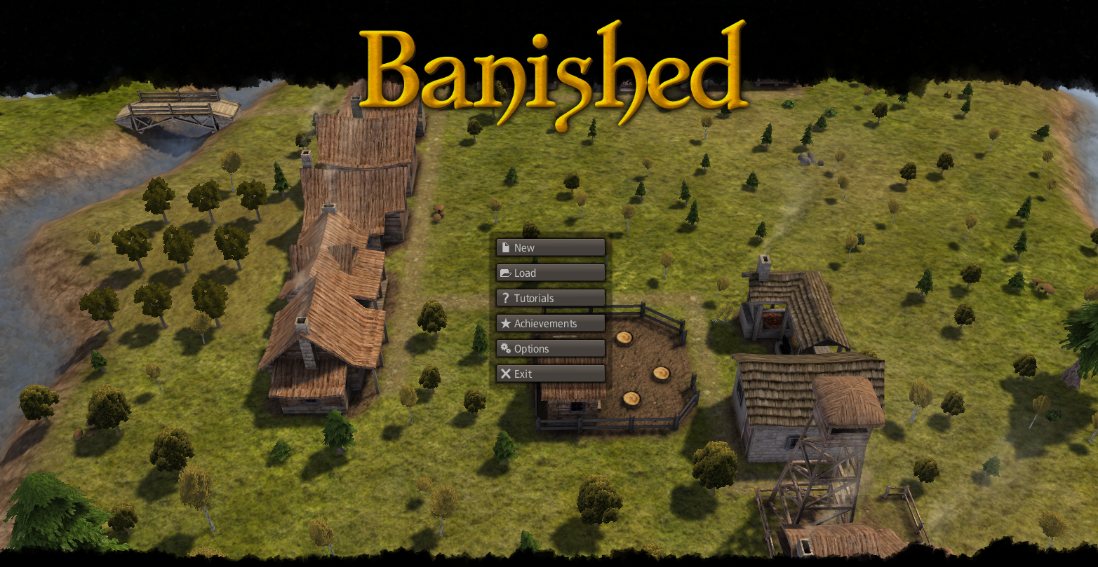 BANISHED / JEU VIDEO / JEU DE GESTION ET DE CIVILISATION