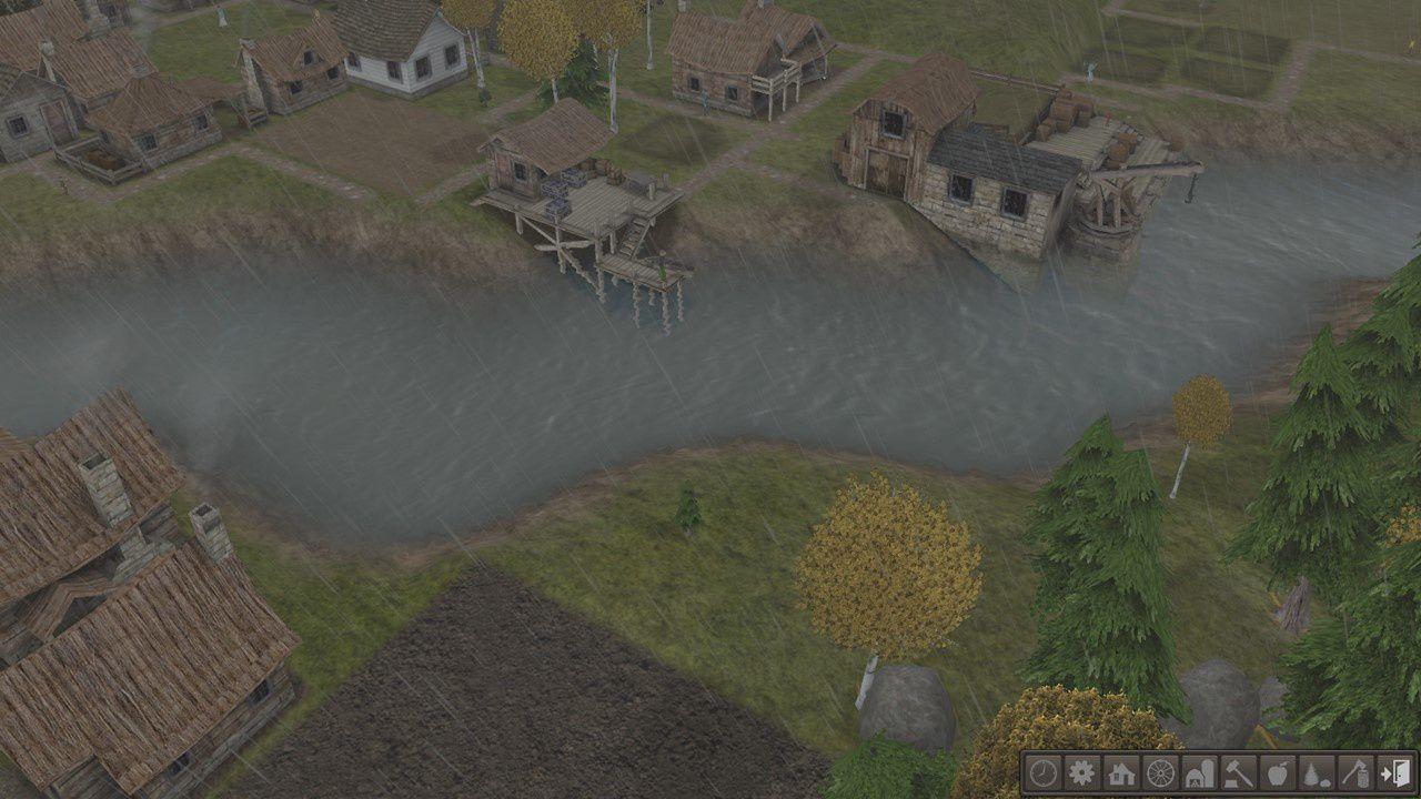 Vous ferez vivre vos villageois au rythme des saisons