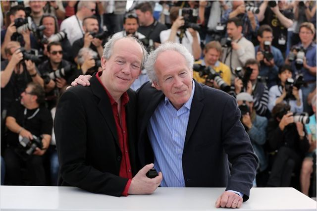 LES FRERES DARDENNE EN PHOTO-CALL A CANNES