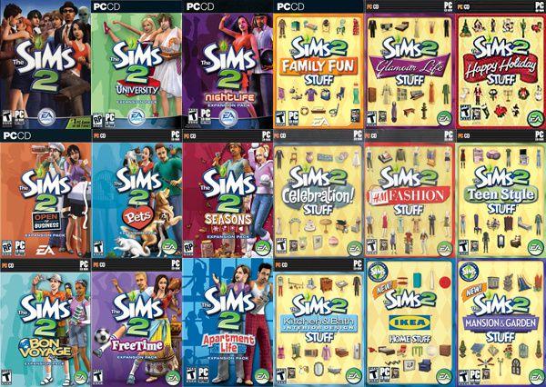 Souvenir des Sims 2
